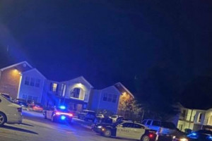 A person has been shot at Liberty Commons Apartments in Columbus