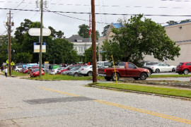 """People try to find Parking for """"My Black Has A Purpose"""" Rally in Columbus, Georgia"""