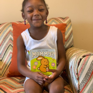 Jahziah loves to read!!