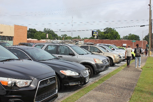 "People try to find Parking for ""My Black Has A Purpose"" Rally in Columbus, Georgia"