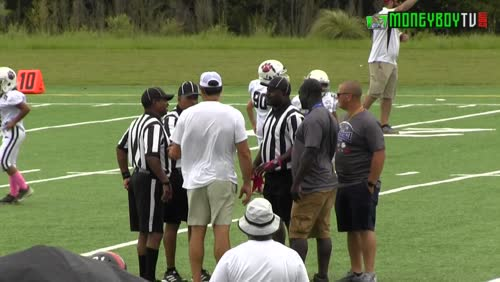 Augusta Football Player # 42 Eject & Suspended from  Pop Warner Football Games.