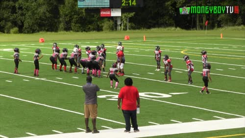 8U Augusta United ( Red ) vs Lincoln County Red Devils Football Full Game