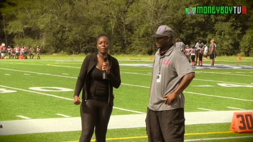Next2Blow interview with Coach JB by Lakeesha after the game